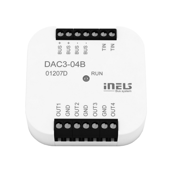 INELS DAC3-04B DIGITAL-ANALOGUE CONVERTER Wired electoinstallation (BUS)