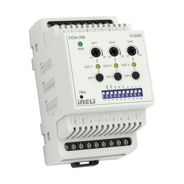 INELS DCDA-33M LED/RGB DIMMER Wired electoinstallation (BUS)