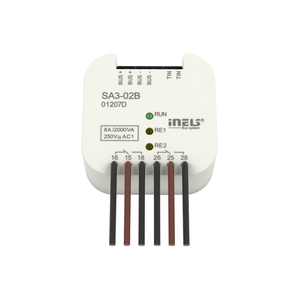 INELS SA3-02B SWITCHING ACTUATOR Wired electoinstallation (BUS)