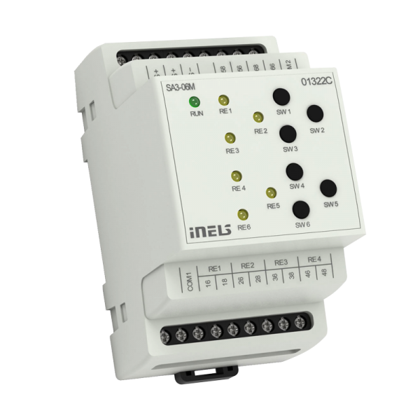 INELS SA3-06M SWITCHING ACTUATOR Hospitality Hotel (GRMS)